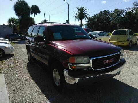 2001 GMC Yukon for sale at D & D Detail Experts / Cars R Us in New Smyrna Beach FL