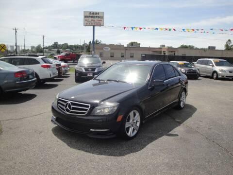 2011 Mercedes-Benz C-Class for sale at A&S 1 Imports LLC in Cincinnati OH