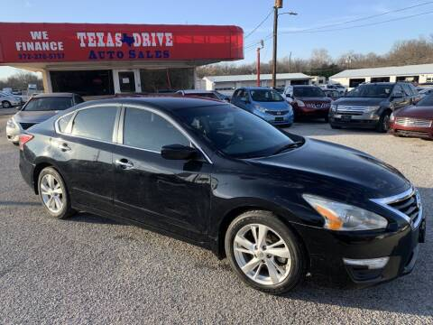 2013 Nissan Altima for sale at Texas Drive LLC in Garland TX