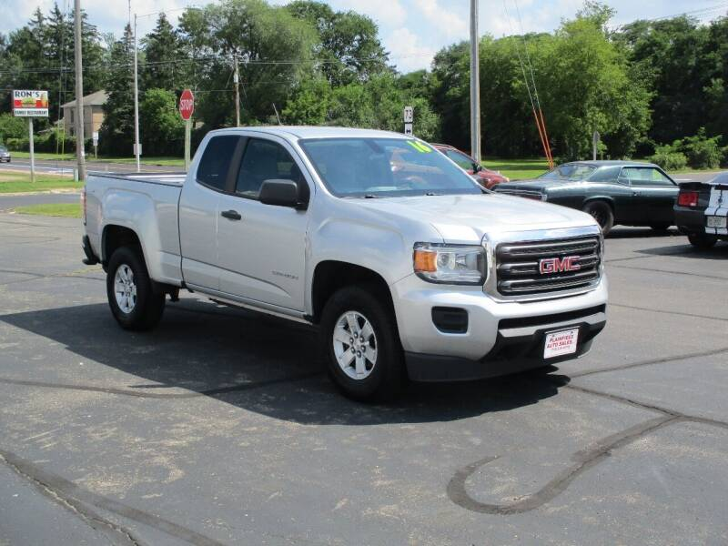 2016 GMC Canyon for sale at Plainfield Auto Sales, LLC in Plainfield WI