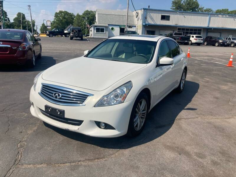 2013 Infiniti G37 Sedan for sale at Irving Auto Sales in Whitman MA