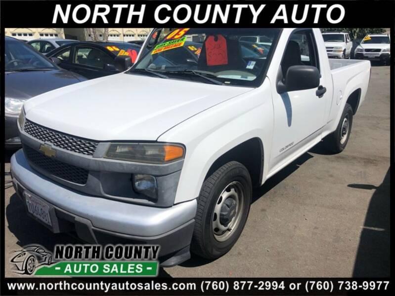 2005 Chevrolet Colorado for sale at North County Auto in Oceanside CA