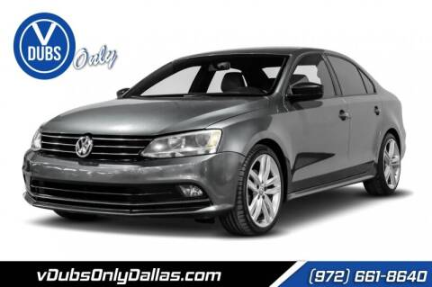 2016 Volkswagen Jetta for sale at VDUBS ONLY in Dallas TX