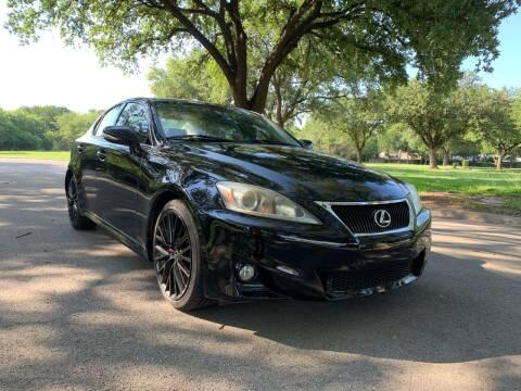 2012 Lexus IS 250 for sale at 210 Auto Center in San Antonio TX
