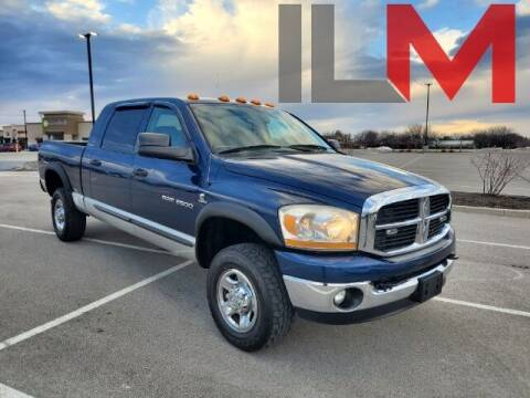 2006 Dodge Ram Pickup 2500 for sale at INDY LUXURY MOTORSPORTS in Fishers IN