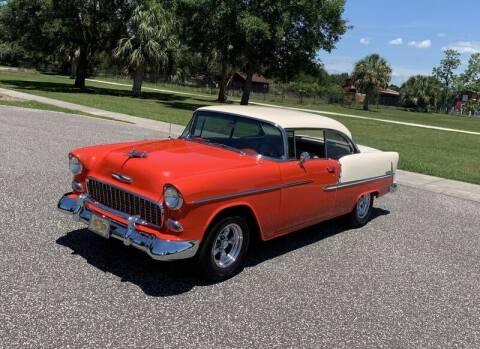 1955 Chevrolet Bel Air for sale at P J'S AUTO WORLD-CLASSICS in Clearwater FL
