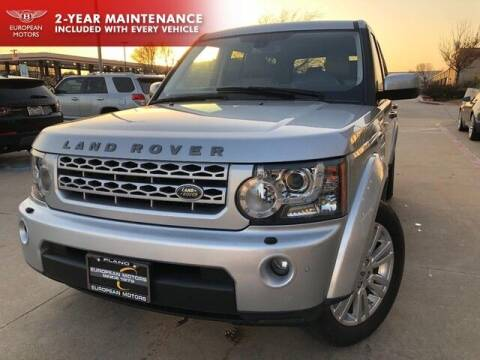 2010 Land Rover LR4 for sale at European Motors Inc in Plano TX