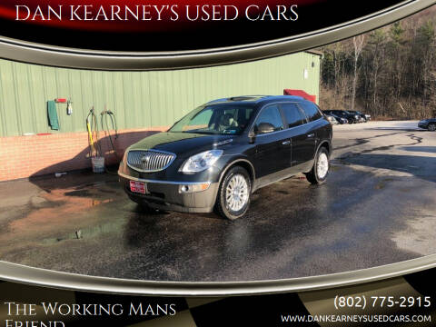 2011 Buick Enclave for sale at DAN KEARNEY'S USED CARS in Center Rutland VT