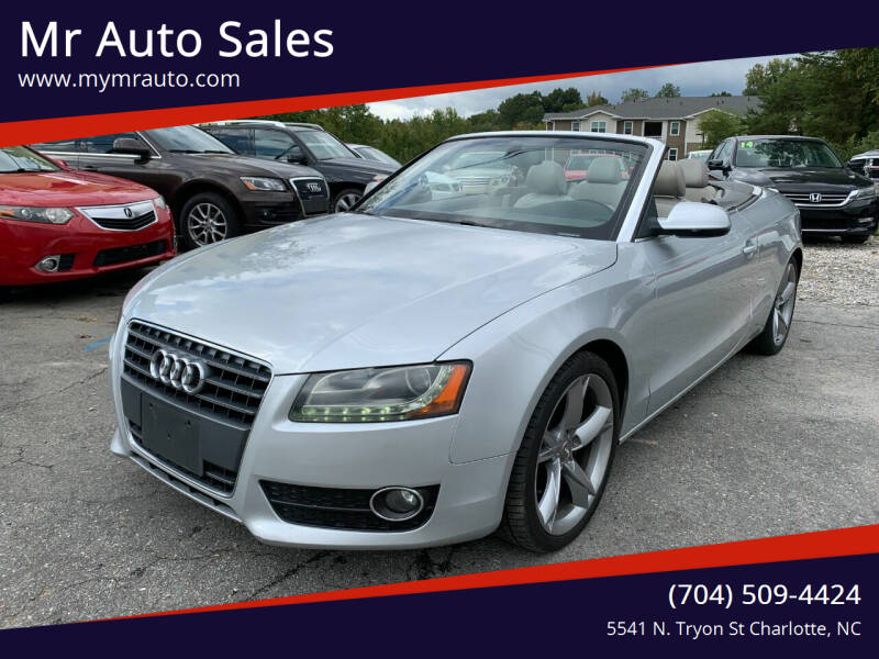 2011 Audi A5 for sale at Mr Auto Sales in Charlotte NC