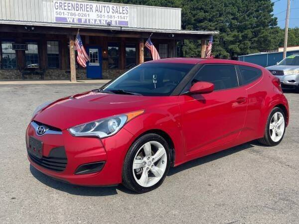 2014 Hyundai Veloster for sale at Greenbrier Auto Sales in Greenbrier AR