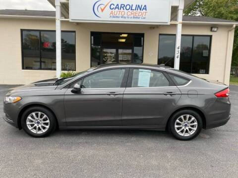 2017 Ford Fusion for sale at Carolina Auto Credit in Youngsville NC