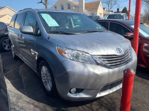 2014 Toyota Sienna for sale at Park Avenue Auto Lot Inc in Linden NJ