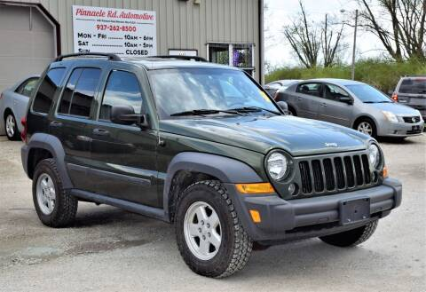 2007 Jeep Liberty for sale at PINNACLE ROAD AUTOMOTIVE LLC in Moraine OH