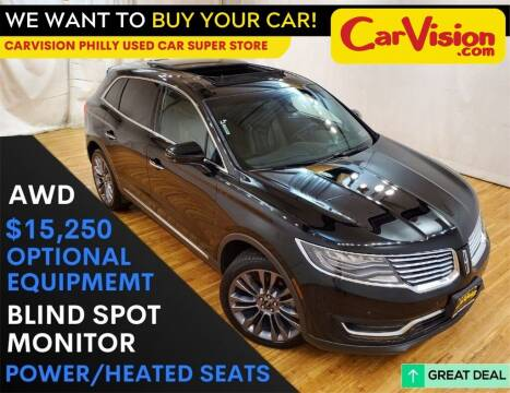 2016 Lincoln MKX for sale at Car Vision Mitsubishi Norristown - Car Vision Philly Used Car SuperStore in Philadelphia PA