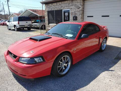2002 Ford Mustang for sale at VAUGHN'S USED CARS in Guin AL