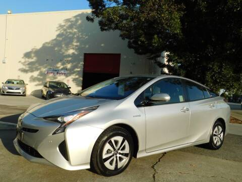 2017 Toyota Prius for sale at Conti Auto Sales Inc in Burlingame CA