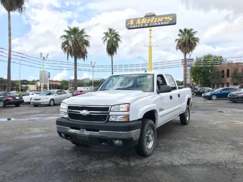 2007 Chevrolet Silverado 2500HD Classic for sale at A MOTORS SALES AND FINANCE - 5630 San Pedro Ave in San Antonio TX