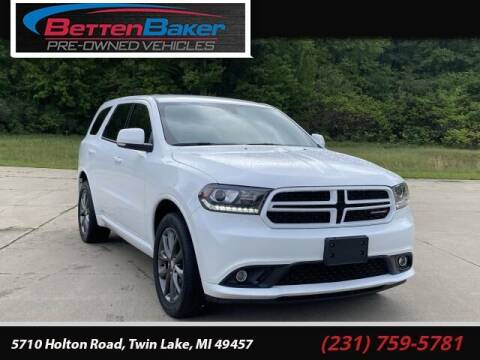 2018 Dodge Durango for sale at Betten Baker Preowned Center in Twin Lake MI
