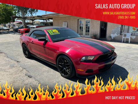 2011 Ford Mustang for sale at Salas Auto Group in Indio CA
