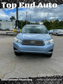2010 Toyota Highlander for sale at Top End Auto in North Attleboro MA