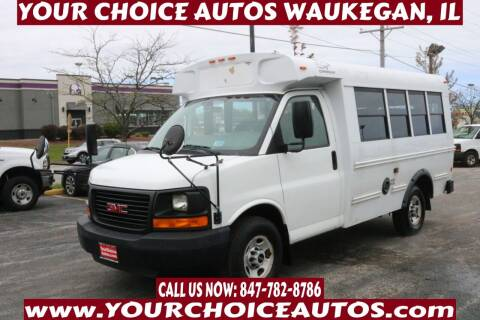 2009 GMC Savana Cutaway for sale at Your Choice Autos - Waukegan in Waukegan IL