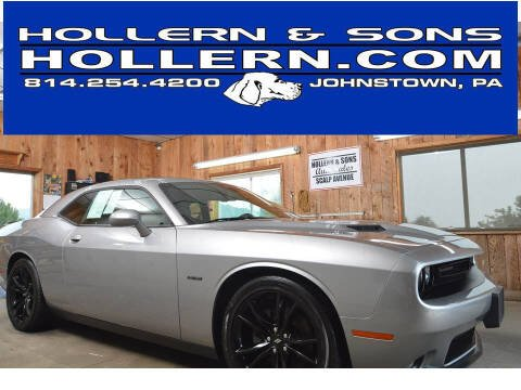 2018 Dodge Challenger for sale at Hollern & Sons Auto Sales in Johnstown PA