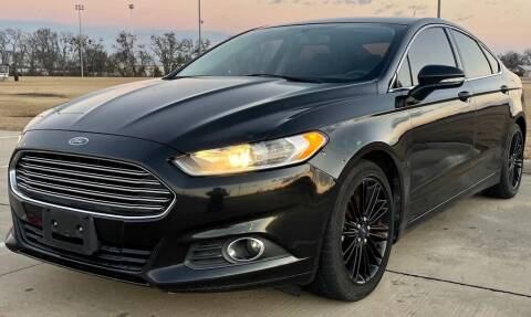 2014 Ford Fusion for sale at Driveline Auto Solution, LLC in Wylie TX