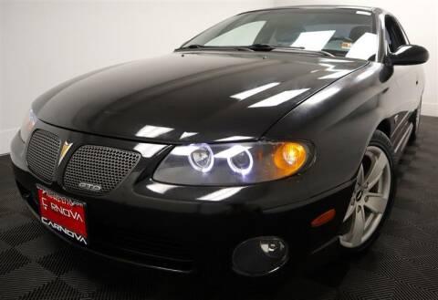 2004 Pontiac GTO for sale at CarNova in Stafford VA