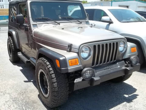 2004 Jeep Wrangler for sale at PJ's Auto World Inc in Clearwater FL