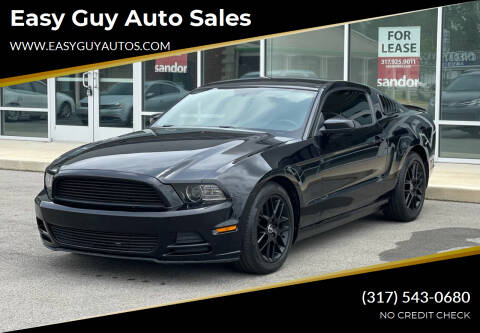 2014 Ford Mustang for sale at Easy Guy Auto Sales in Indianapolis IN