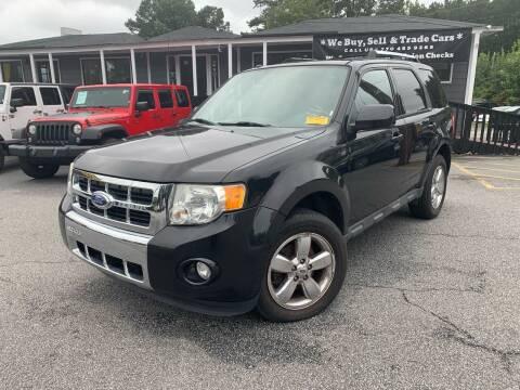 2011 Ford Escape for sale at Georgia Car Shop in Marietta GA