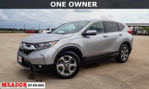 2019 Honda CR-V for sale at Meador Dodge Chrysler Jeep RAM in Fort Worth TX