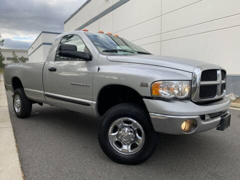 2004 Dodge Ram Pickup 2500 for sale at PM Auto Group LLC in Chantilly VA