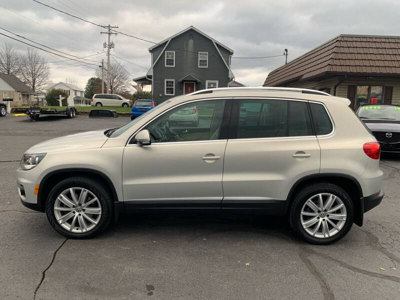2013 Volkswagen Tiguan for sale at MAGNUM MOTORS in Reedsville PA