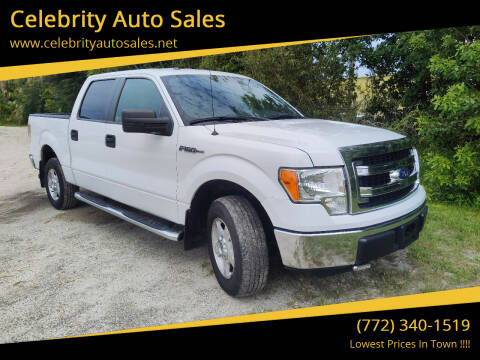 2013 Ford F-150 for sale at Celebrity Auto Sales in Fort Pierce FL