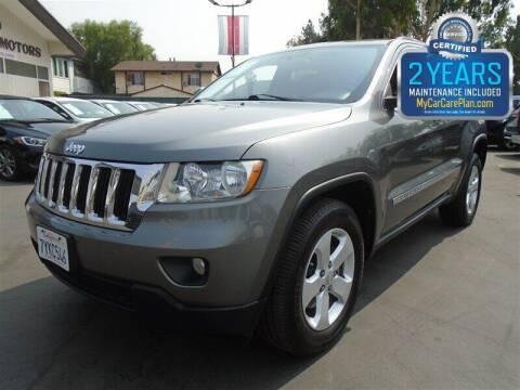2012 Jeep Grand Cherokee for sale at Centre City Motors in Escondido CA