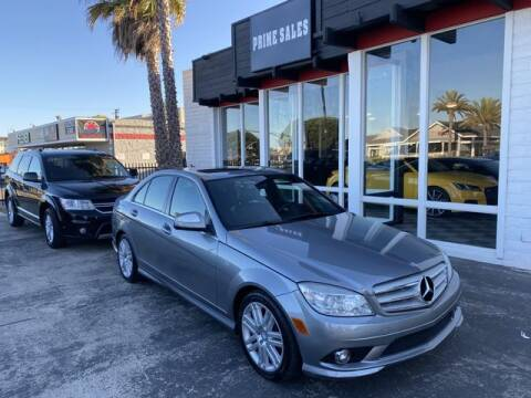 2008 Mercedes-Benz C-Class for sale at Prime Sales in Huntington Beach CA