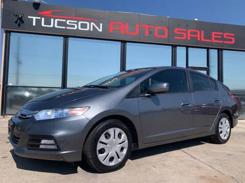 2013 Honda Insight for sale at Tucson Auto Sales in Tucson AZ