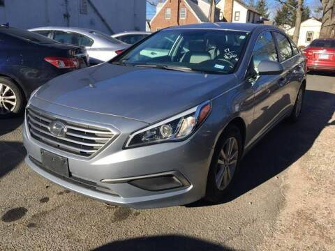 2017 Hyundai Sonata for sale at MELILLO MOTORS INC in North Haven CT