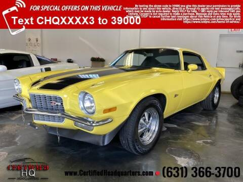 1970 Chevrolet Camaro for sale at CERTIFIED HEADQUARTERS in St James NY