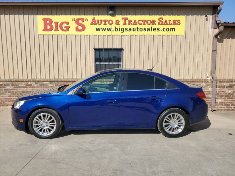 2013 Chevrolet Cruze for sale at BIG 'S' AUTO & TRACTOR SALES in Blanchard OK