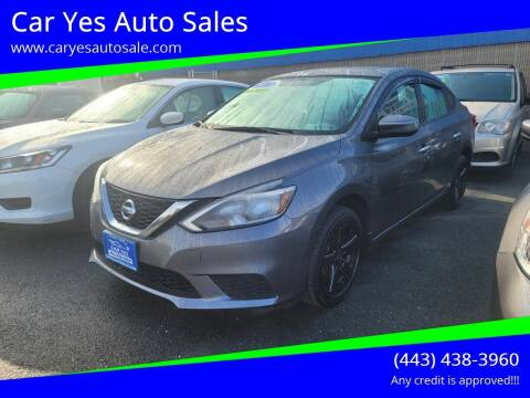 2017 Nissan Sentra for sale at Car Yes Auto Sales in Baltimore MD