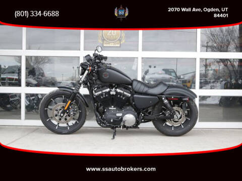 2020 Harley-Davidson XL883N Sportster Iron 883 for sale at S S Auto Brokers in Ogden UT