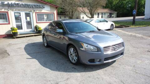 2011 Nissan Maxima for sale at E-Motorworks in Roswell GA