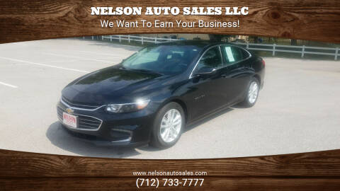 2017 Chevrolet Malibu for sale at Nelson Auto Sales LLC in Harlan IA