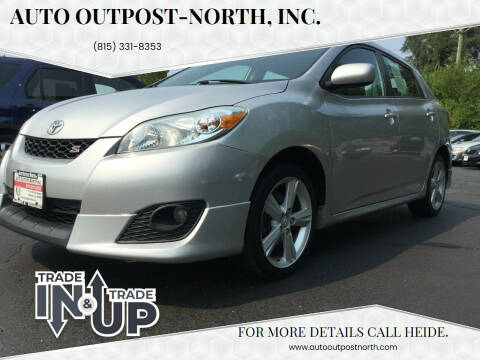 2009 Toyota Matrix for sale at Auto Outpost-North, Inc. in McHenry IL