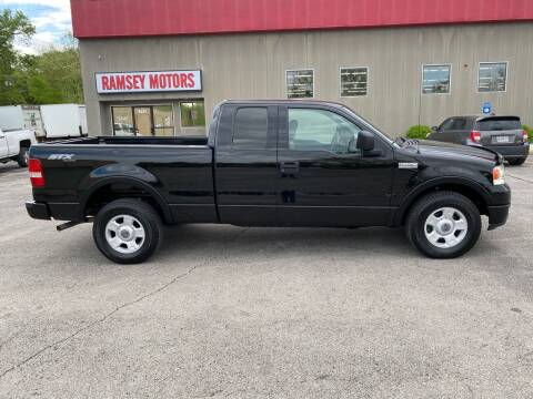 2004 Ford F-150 for sale at Ramsey Motors in Riverside MO