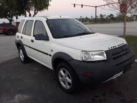 2003 Land Rover Freelander for sale at LAND & SEA BROKERS INC in Deerfield FL