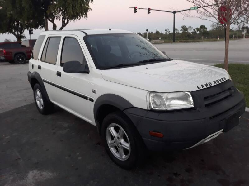 2003 Land Rover Freelander for sale at LAND & SEA BROKERS INC in Pompano Beach FL