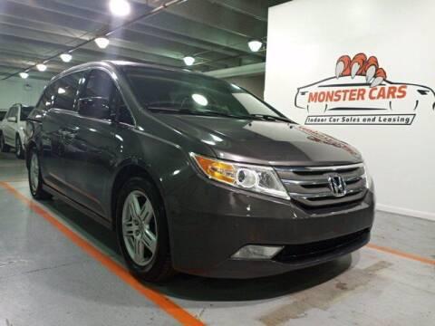 2013 Honda Odyssey for sale at Monster Cars in Pompano Beach FL